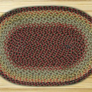 Earth Rugs Burgundy Black Sage