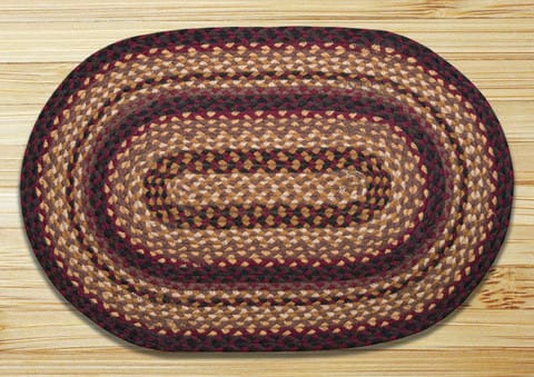 Earth Rugs Black Cherry Chocolate Creme