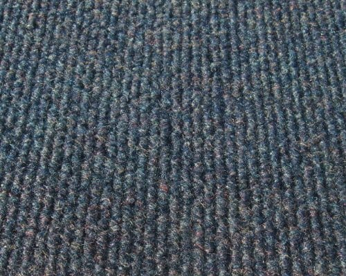 Cadet Blue Indoor-Outdoor Unbound Carpet Area Rug