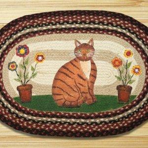 Earth Rugs Folk Art Cat