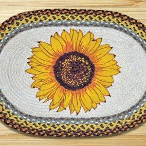 Earth Rugs Sunflower
