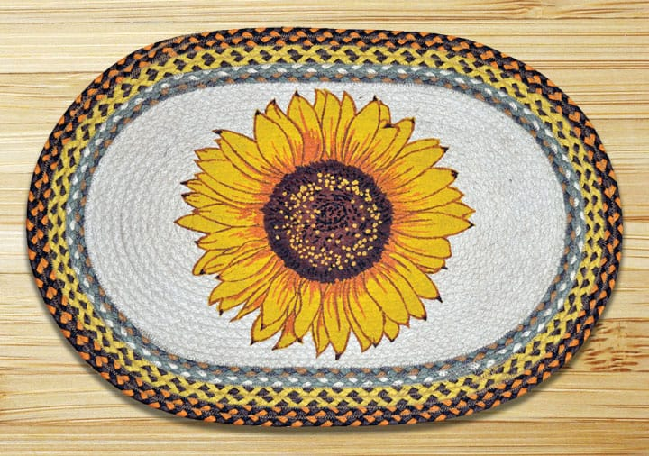 Earth Rugs Sunflower