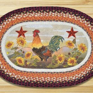 Earth Rugs Morning Rooster