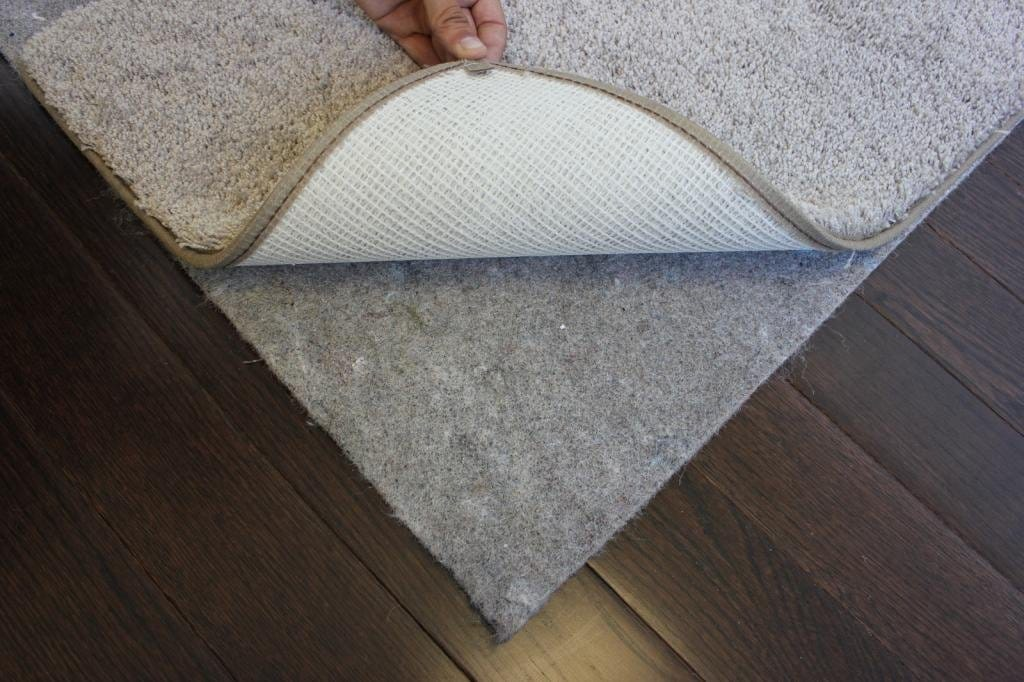 20 Oz Felt Area Rug Pad 1 4 Thick 100 Recycled Jute