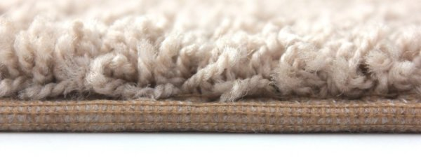 closeup of shag rug