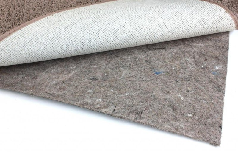 Duo Lock Felt and Rubber Non Slip Area Rug Pad