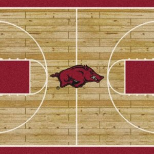 Arkansas Razorbacks Area Rug
