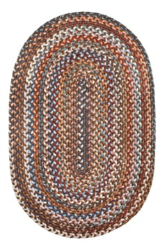 Rhody Walnut Braided Area Rug Multi Wool Astoria As 32