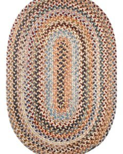Rhody Wheat Field Braided Area Rug