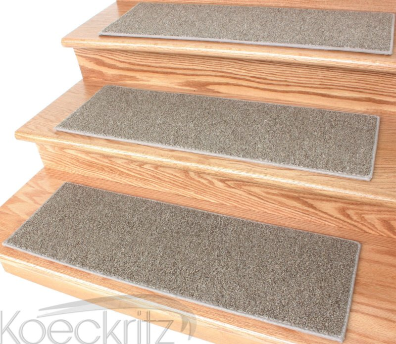 Economical Solutions Level Loop Stair Treads Toast