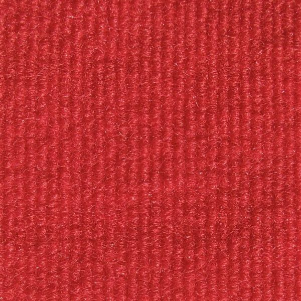 Bright Red Indoor-Outdoor Unbound Carpet Area Rug