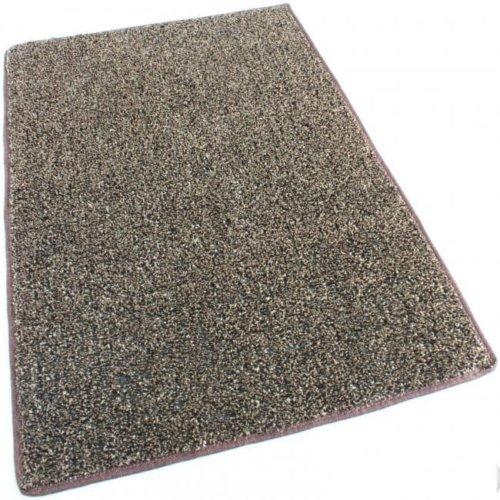 Brown Tan Indoor-Outdoor Artificial Grass Turf Area Rug Carpet