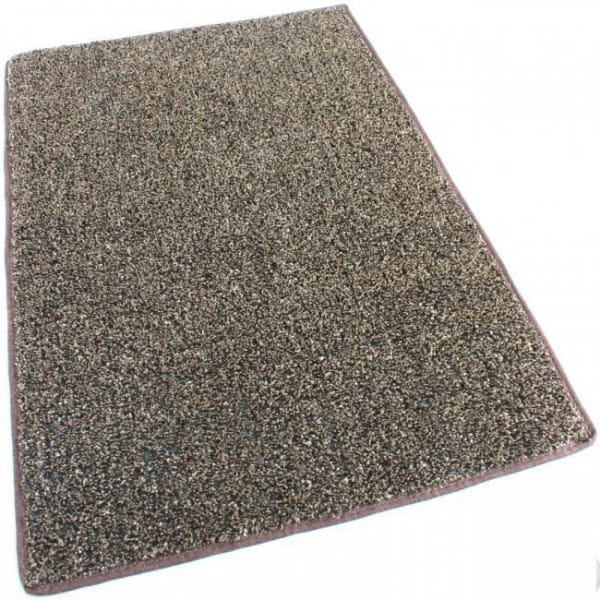Brown Tan Indoor-Outdoor Artificial Grass Turf Area Rug Carpet
