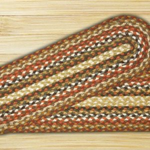 Earth Rugs Honey Vanilla Ginger Braided Stair Treads