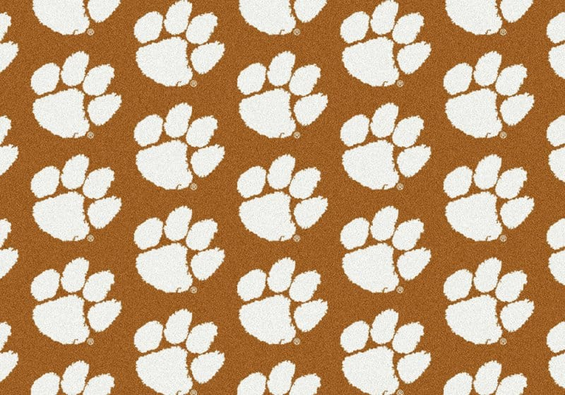 Clemson Tigers Area Rug | NCAA | Tigers Area Rugs