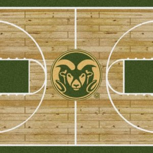 Colorado State Rams Area Rug
