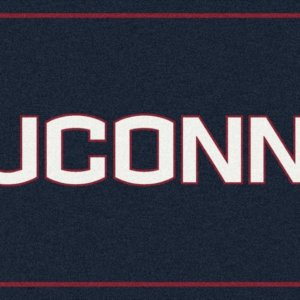 Connecticut Huskies Area Rug