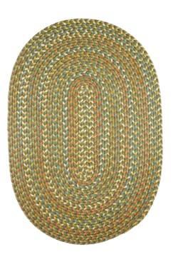 Rhody Olive Braided Area Rug
