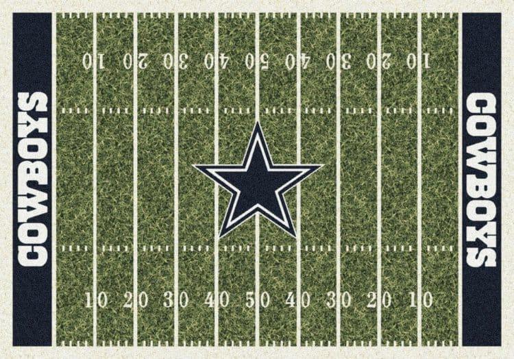 Superior Dallas Cowboys Homefield Area Rug | Dallas Cowboys Area Rug