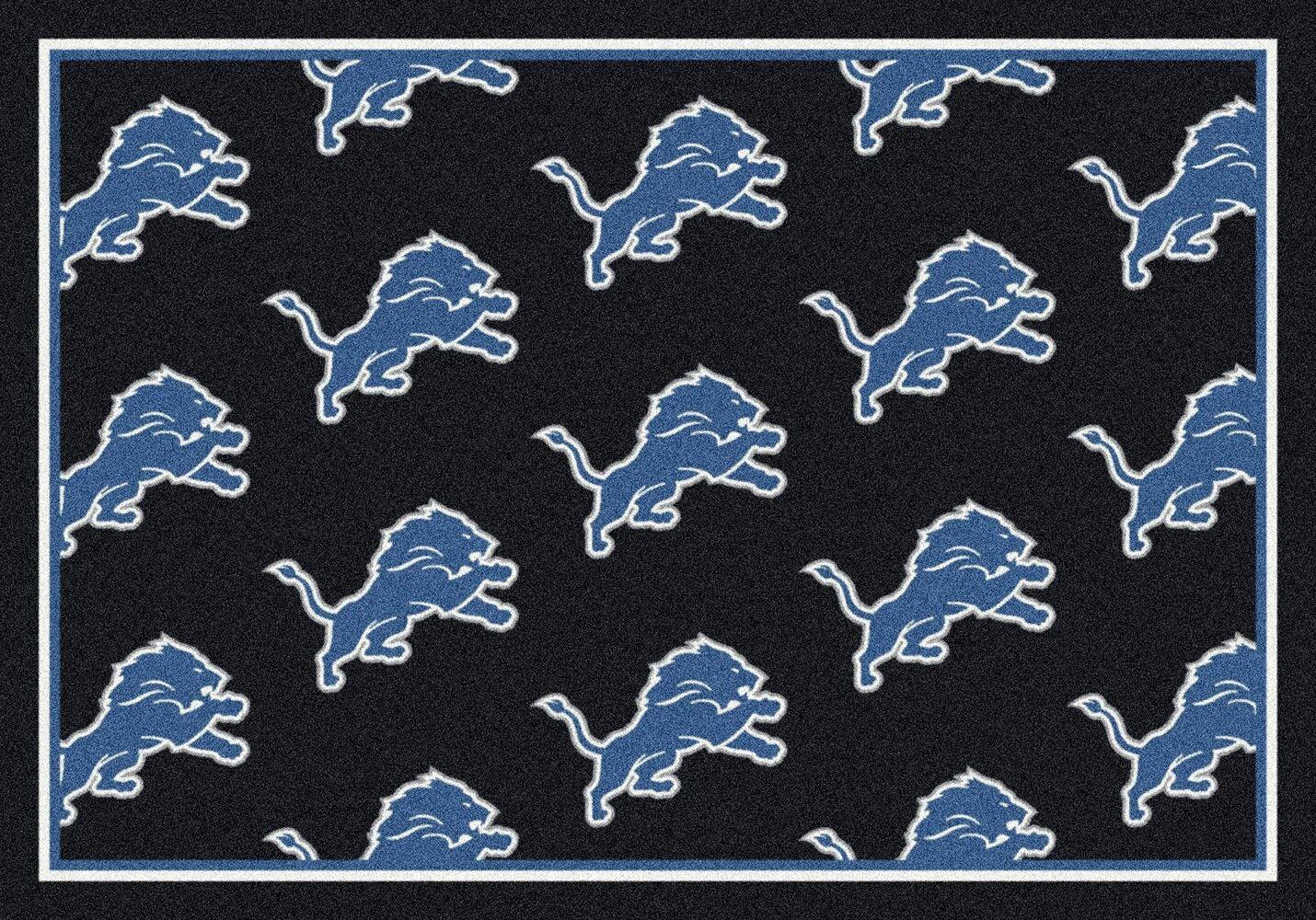 Detroit Lions Area Rug Nfl Lions Area Rugs
