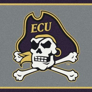 East Carolina Pirates Area Rug
