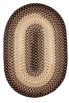 Rhody Charcoal Braided Area Rug
