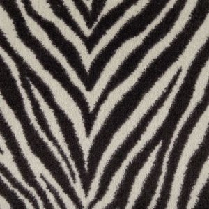 Milliken Exotic Journey Savani Cut Pile Indoor Zebra Pattern Area Rug