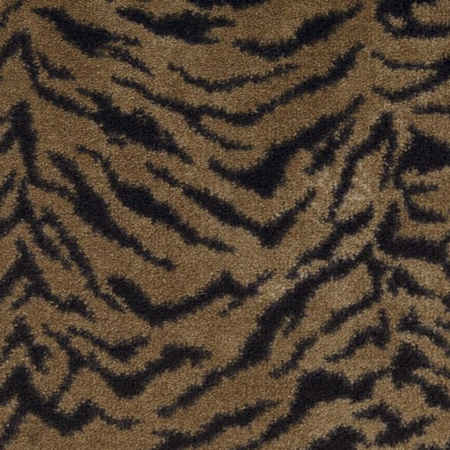 Milliken Exotic Journey Domo Cut Pile Indoor Tiger Pattern