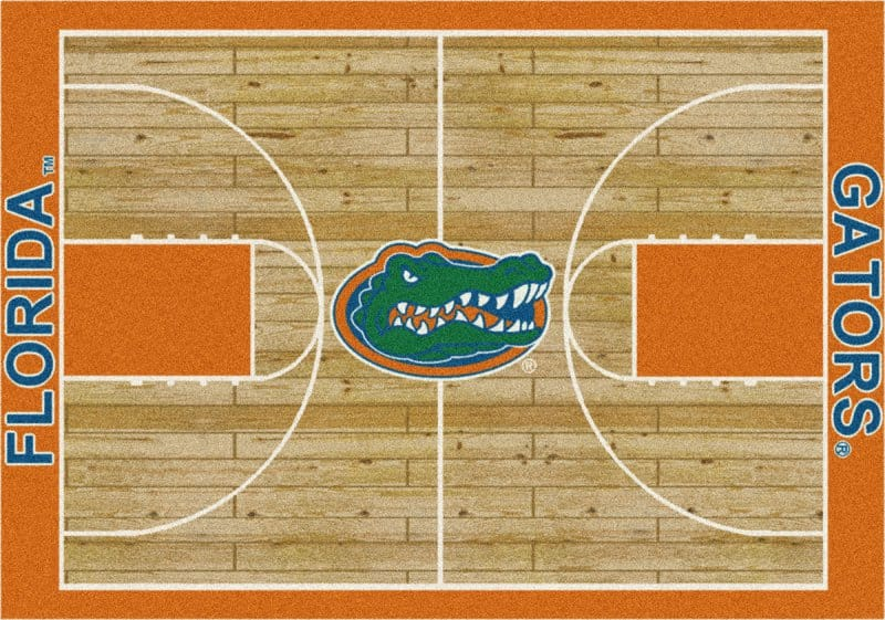 Florida Gators Area Rug Ncaa Collegiate Homecourt