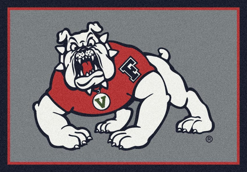 Fresno State Bulldogs Area Rug Ncaa Bulldogs Area Rugs