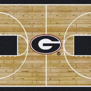 Georgia Bulldogs Area Rug