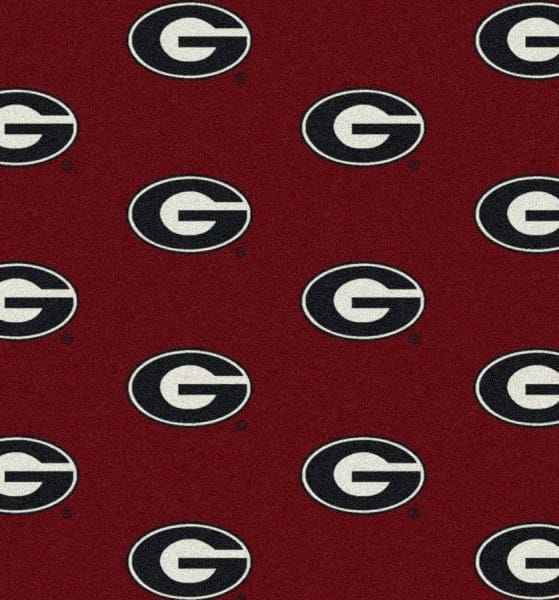 Georgia Bulldogs Area Rug Ncaa Bulldogs Area Rugs
