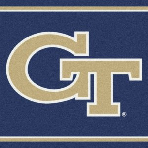 Georgia Tech Yellow Jackets Area Rug