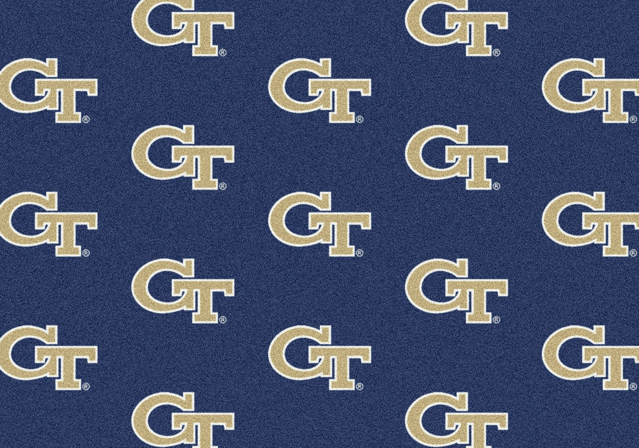 Georgia Tech Yellow Jackets Area Rug Ncaa Yellow Jackets