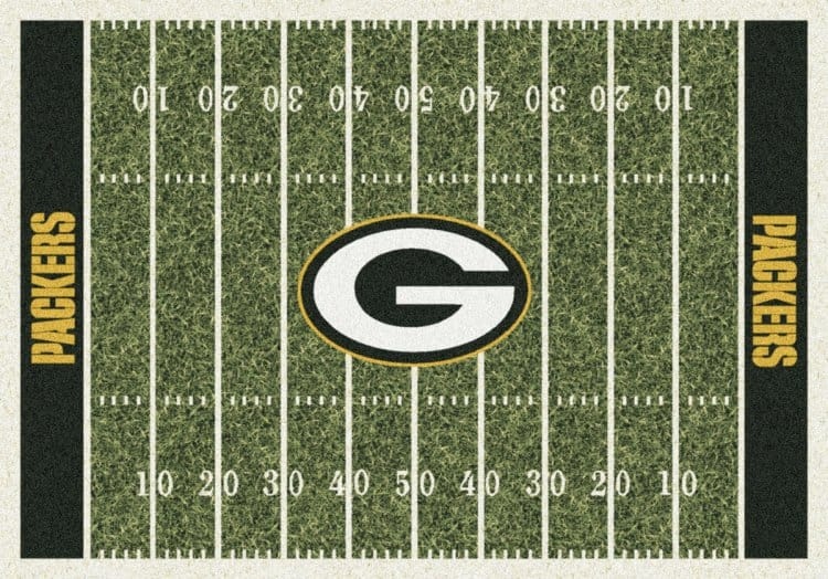 Green Bay Packers Area Rug | NFL | Packers Area Rugs