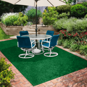 Charmant Green Indoor Outdoor Olefin Carpet Area Rug ...