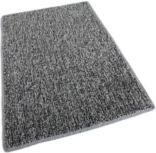 Grey Black Indoor-Outdoor Artificial Grass Turf Area Rug Carpet