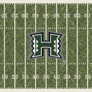 Hawaii Warriors Area Rug