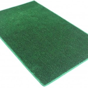 Green Indoor-Outdoor Artificial Grass Turf Area Rug Carpet