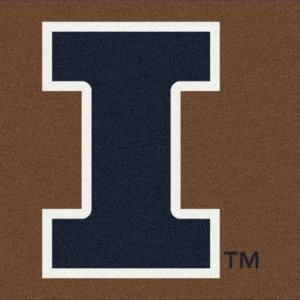 Illinois Fighting Illini Area Rug