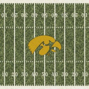 Iowa Hawkeyes Area Rug