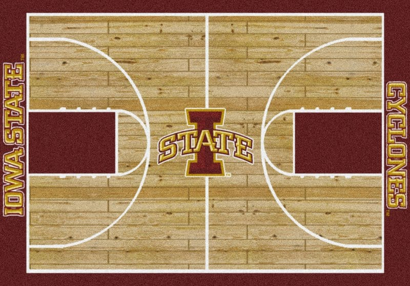 Iowa State Cyclones Area Rug | NCAA Collegiate Homecourt Area Rug