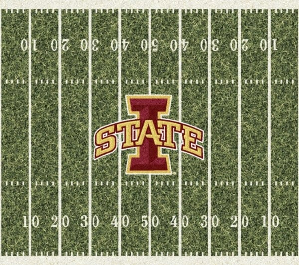 Iowa State Cyclones Area Rug | NCAA Collegiate Homefield Area Rug