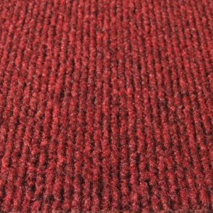 Brick Red Indoor-Outdoor Unbound Carpet Area Rug