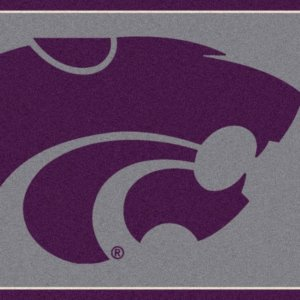 Kansas State Wildcats Area Rug