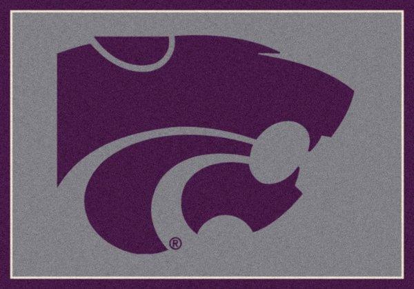Kansas State Wildcats Area Rug
