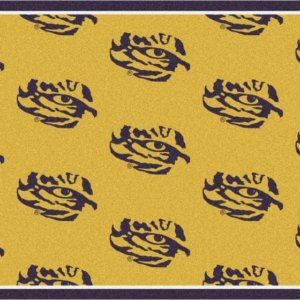 LSU Tigers Area Rug
