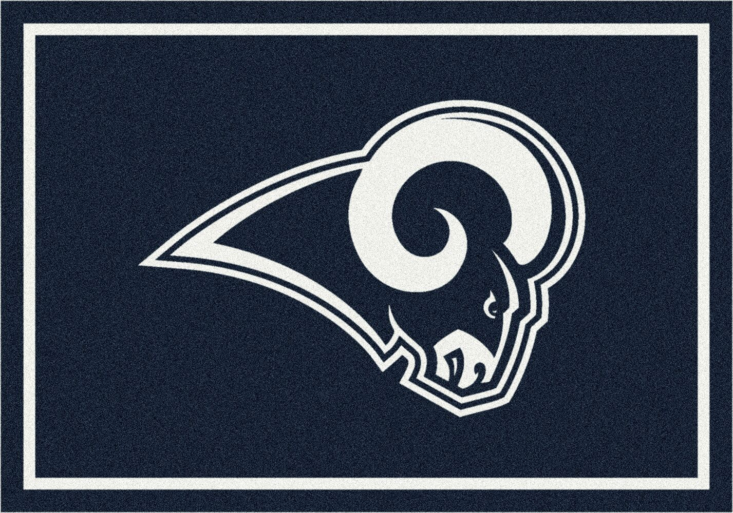 Los Angeles Rams Area Rug NFL Rugs