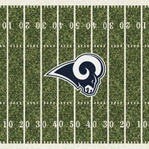 Los Angeles Rams Area Rug