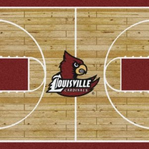Louisville Cardinals Area Rug